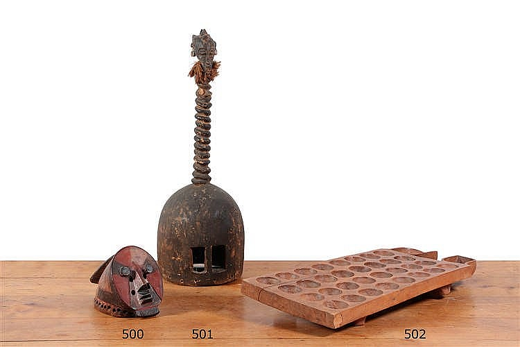 jeu de mancala en bois creus de style africain long 7. Black Bedroom Furniture Sets. Home Design Ideas