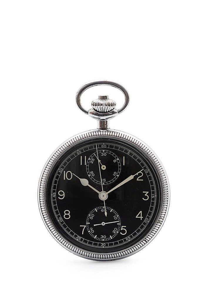 breitling 605 a montre chronographe de poche pour la naviga. Black Bedroom Furniture Sets. Home Design Ideas