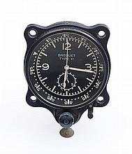BREGUET - Montre chronographe de bord signé Breguet Type 11 n°13044,