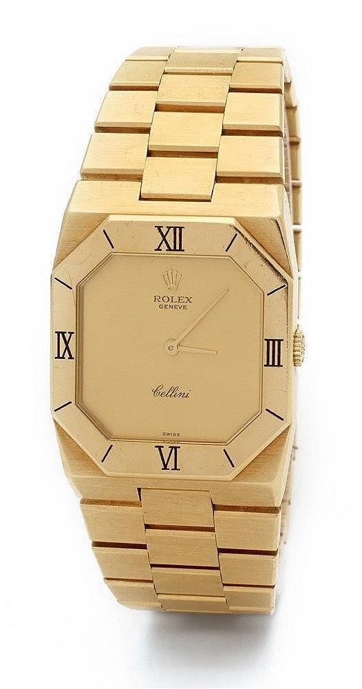 ROLEX CELLINI - Montre Rolex Genève Cellini référence 4350, n° de séri