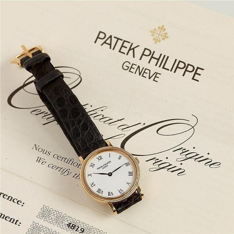 PATEK PHILIPPE - Montre de dame signée Patek Philippe Genève modèle C