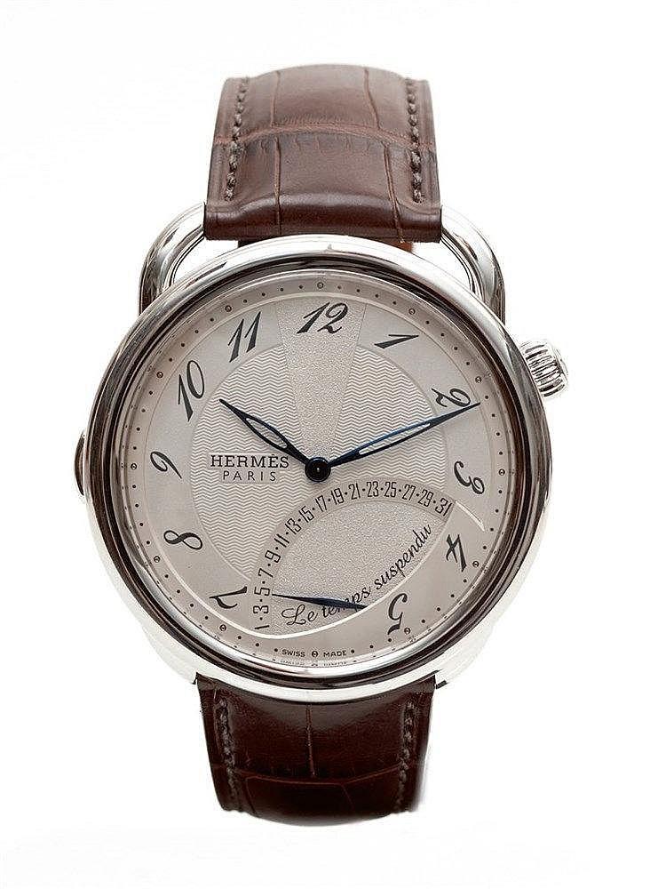 HERMES - Montre Temps suspendu réf. 036873WW - n° de boite 3027066 Mo