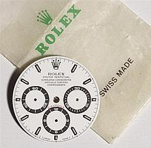 ROLEX - CADRAN DAYTONA Cosmograph Rare cadran blanc Daytona (100% d