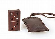 Van Cleef & Arpels - Petite pendulette de voyage signée Van Cleef & A