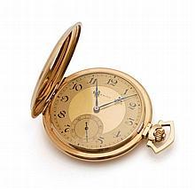ZENITH - Montre à gousset en or jaune 18 K (750 millième) signée Zéni