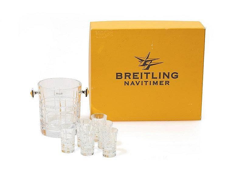 BREITLING - Set Vodka fabriqué par Christofle pour Breitling. Boite d