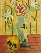 LOUIS LATAPIE (1891-1972) - BOUQUET DE FLEURS