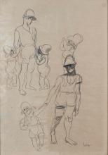 LOUIS LATAPIE (1891-1972) - PERSONNAGES