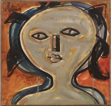 LOUIS LATAPIE (1891-1972) - VISAGE