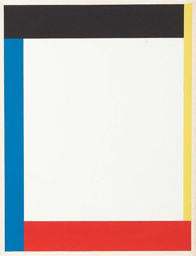 AURELIE NEMOURS (1910-2005) (MARCELLE BARON DITE) LE TOUR DE LA DROITE, 198