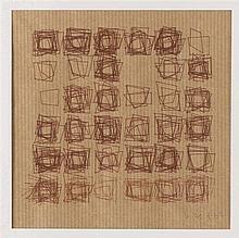 VERA MOLNAR (NE EN 1924) SANS TITRE, 1987 De la série Structure de quadrila