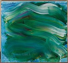 JEAN MESSAGIER (1920-1999) LA GRANDE REINE DES PRES, CIRCA 1992-1993 Huile