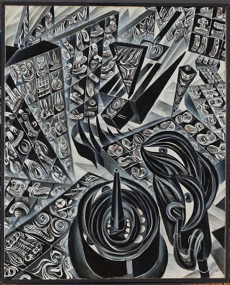 ERRO (NE EN 1932) (GUDMUNDUR ERRO DIT) PLACE MAUBERT, 1959-1961 De la série