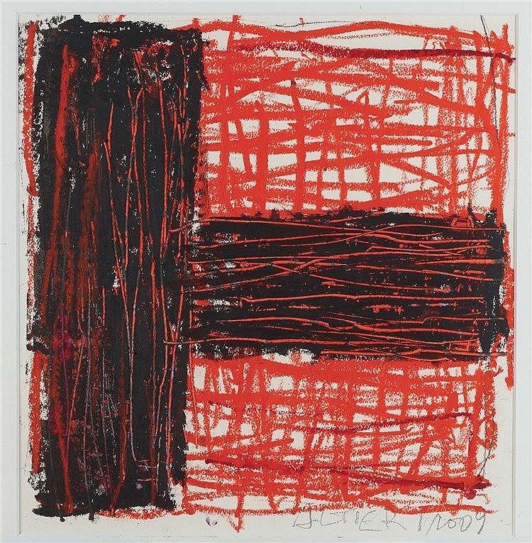 LUDOVIC ALTIERI (1912-1996) COMPOSITION, 2009  Pastel sur papier Signé et d