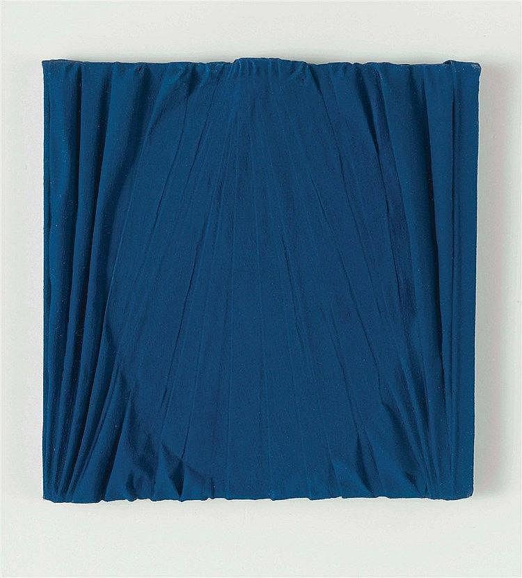 UMBERTO MARIANI (NE EN 1936) SANS TITRE Acrylique et plomb sur panneau 20 x