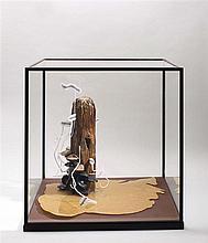 GILLES BARBIER (NE EN 1965) LE PIER AVEC MOULES, 2007-2008 Technique mixte