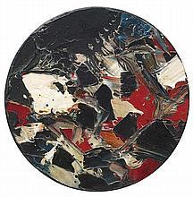 SAYED HAIDER RAZA (1922-2016) SANS TITRE (P-366'61), 1961 Huile sur panneau