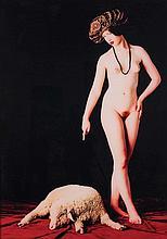 DANY LERICHE (NE EN 1951) LAKSHMI, 1992 Cibachrome couleurs 186 x 133 cm