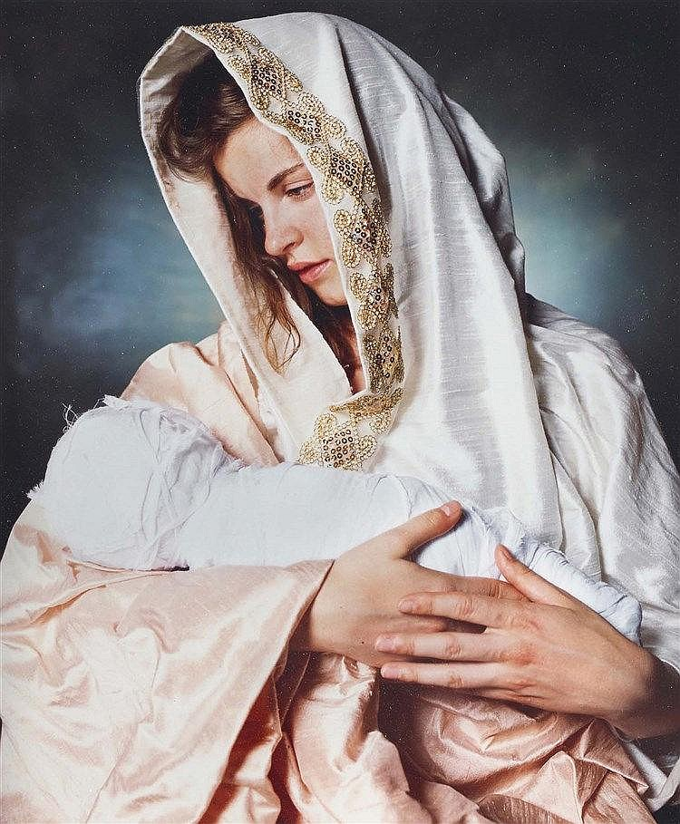 ANDRES SERRANO (NE EN 1950) MOTHER AND CHILD, 2011 C-Print Signé, titré et
