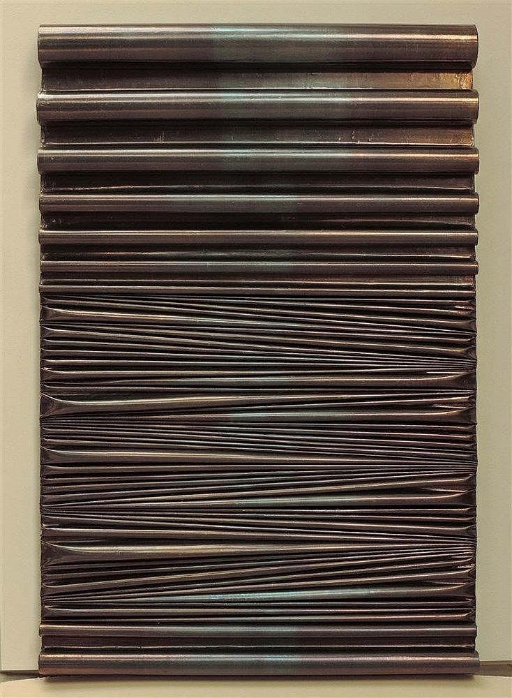 UMBERTO MARIANI (NE EN 1936) SENZA TITOLO, 04-2016 Peinture vinyl et sable