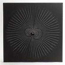 JEAN-PIERRE YVARAL (1934-2002) INTERFERENCE, 1966 Relief cinétique en bois