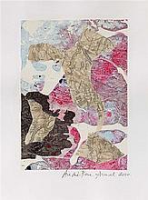 ANDRE-PIERRE ARNAL (NE EN 1939) PEINTURE A LA CARTE, 2010 Collage de relevé
