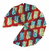 CLAUDE VIALLAT (NE EN 1936) SANS TITRE Acrylique sur toile de parasol Diamè