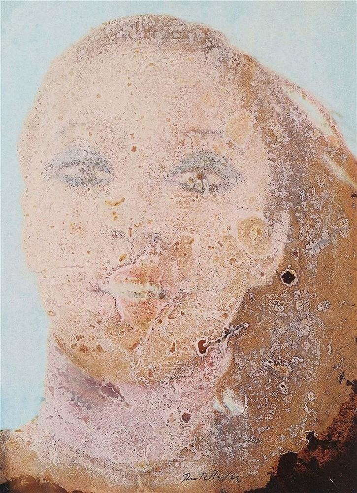 MIMMO ROTELLA (1918-2006) SANS TITRE, 1972 De la série des Effaçages Trichl
