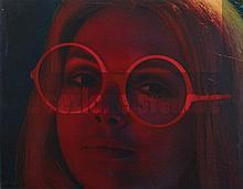 MIMMO ROTELLA (1918-2006) SEZIONE STELLARE, 1970  Mec-Art Artypo-plastique
