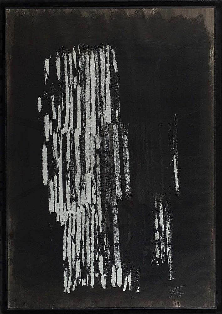 CESAR (1921-1998) (CESAR BALDACCINI DIT) ARRACHAGE, 1955 Encre de Chine sur