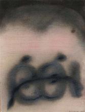 PIERRE DMITRIENKO (1925-1974) PAROLES, 1965 De la série Paroles Huile sur p