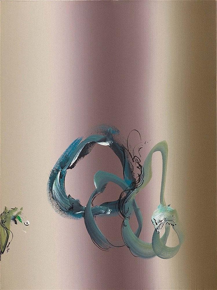 STEPHANE CALAIS (NE EN 1967) FUMEE, 2009 Acrylique sur toile Monogrammée, t