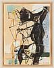 EUGENE DE KERMADEC (1899-1976) NU, 1957 Aquarelle et pastel sur papier Sign, Eugène Nestor