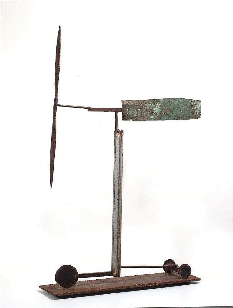 JOSEP RIERA I ARAGO (NE EN 1954) SANS TITRE Métal soudé peint 104 x 73,5 x