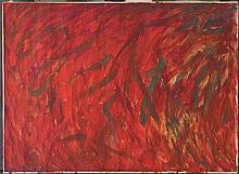 MUBIN ORHON (1924-1981) SANS TITRE, 1963 Huile sur toile Signée et datée en