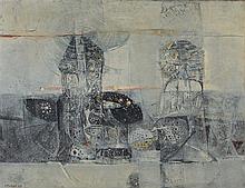 SKUNDER (1937-2003) (ALEXANDER BOGHOSSIAN DIT) SANS TITRE, 1963 Huile sur t
