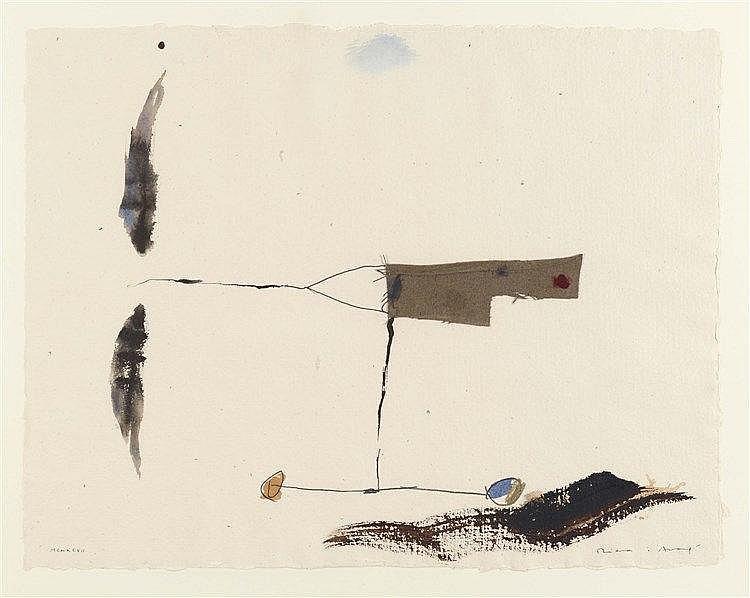JOSEP RIERA I ARAGO (NE EN 1954) SANS TITRE, 1997 Collage, encre, encres de