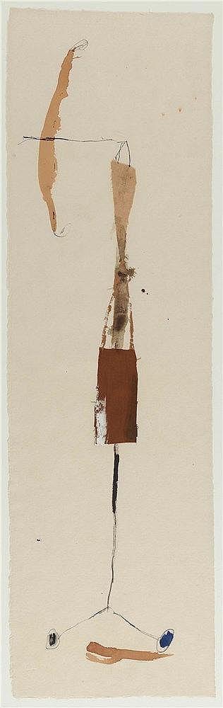 JOSEP RIERA I ARAGO (NE EN 1954) SANS TITRE, 1997 Collage, fusain, encres d
