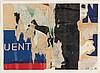 JACQUES MAHE DE LA VILLEGLE (NE EN 1926) BOULEVARD DIDEROT, DECEMBRE 1959 A, Jacques Mahe de la Villegle, €2,500