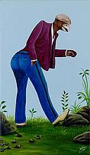BODO (CAMILLE PIERRE PAMBU BODO DIT) (1953-2015) SAP CHAPEAU