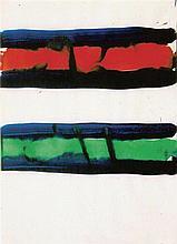 SAM FRANCIS (1923-1994)  SANS TITRE (SF78-1123), 1978  Acrylique sur papier