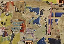 JACQUES VILLEGLE (NE EN 1926)  (JACQUES MAHE DE LA VILLEGLE DIT)  RUE BRISE