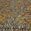 ABLADE GLOVER  (NE EN 1934)  JUBILATION, 2015  Huile sur toile  Signée et d, Ablade Glover, €8,000