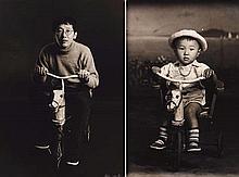 HAI BO (NE EN 1962)  WOOD HORSE, 1999  Diptyque  Tirage photographique en n