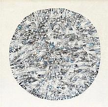 ALFRED MANESSIER (1911-1993)  BOULE DE NEIGE, 1979  Huile sur toile  Signée