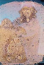 MIMMO ROTELLA (1918-2006)  PENSANDOTI, 1973  De la série des Effaçages  Tri