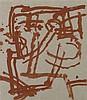 JAMES BROWN (NE EN 1951)  HOTEL INTERIOR KYOTO #9, 1986  Aquarelle sur papi, James Brown, €1,500