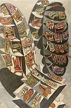 ERRO (NE EN 1932)  (GUDMUNDUR ERRO DIT)  SUICIDE COLLECTIF, 1960  De la sér