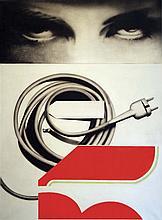 PETER KLASEN (NE EN 1935)  LA CIBLE, 1967  Acrylique sur toile  Signée et d