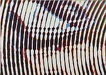 ALAIN JACQUET (1939-2008)  DS, 2004  Sérigraphie sur toile  Signée, titrée